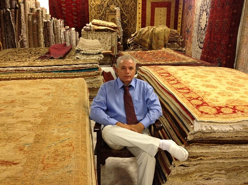 carpets-in-showroom-persianrugplanet