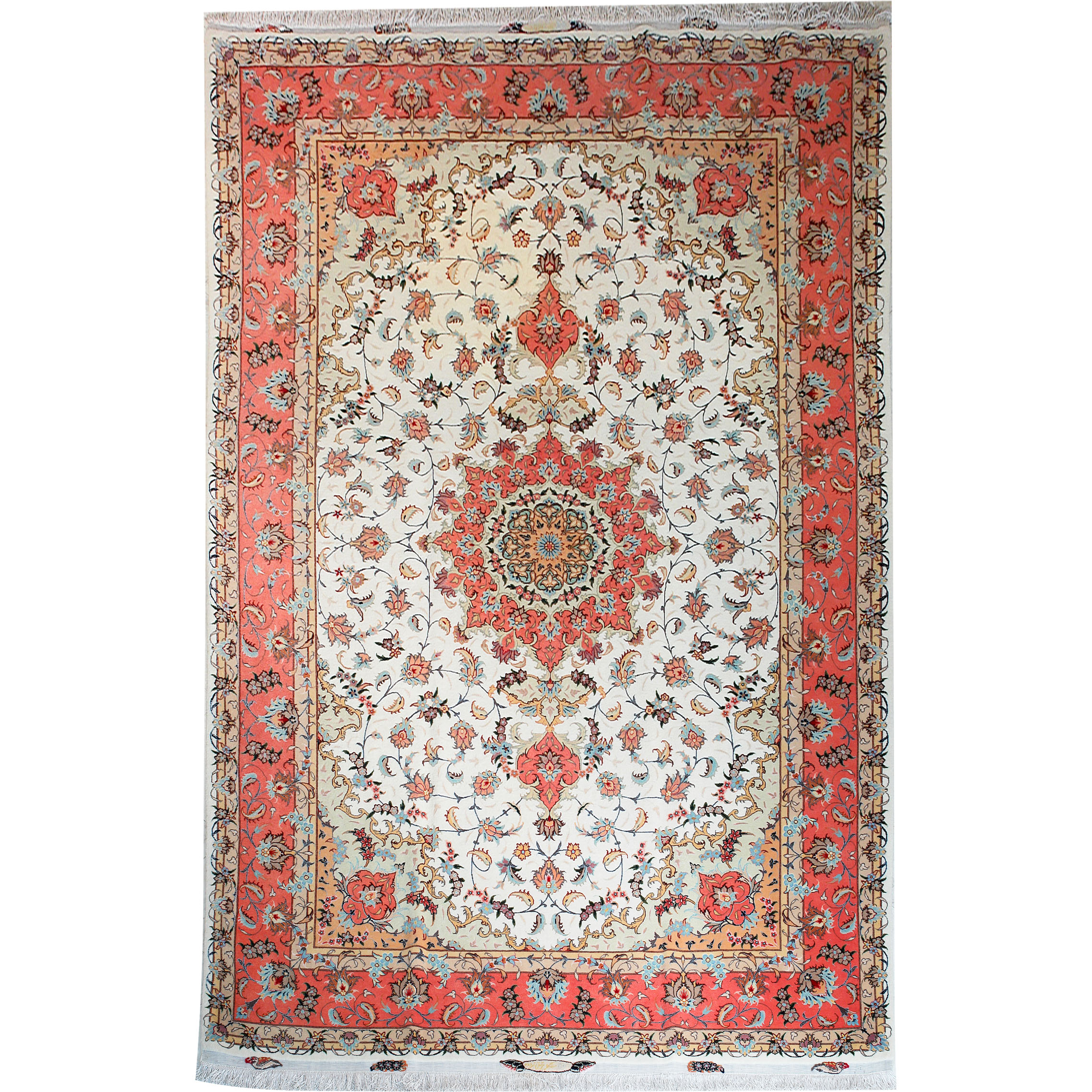 Classic Rugs :: Tabriz Exclusive 319X201 Persian Style Wool U0026 Silk Rug    Discount Persian Rugs, Oriental Rugs