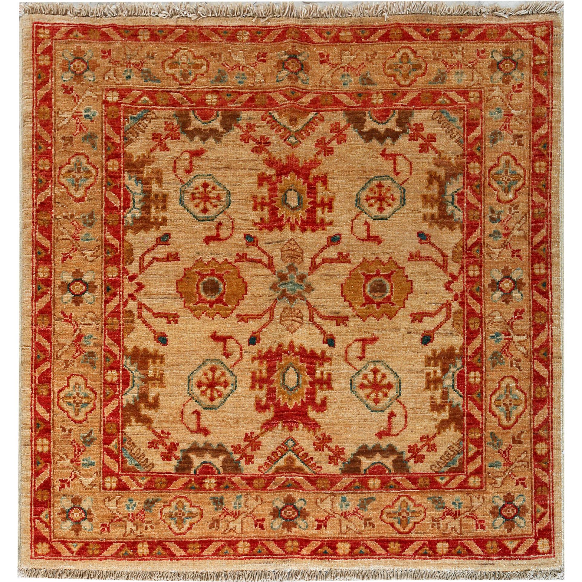 Ziegler 102x97 Afghan Nomad Rug