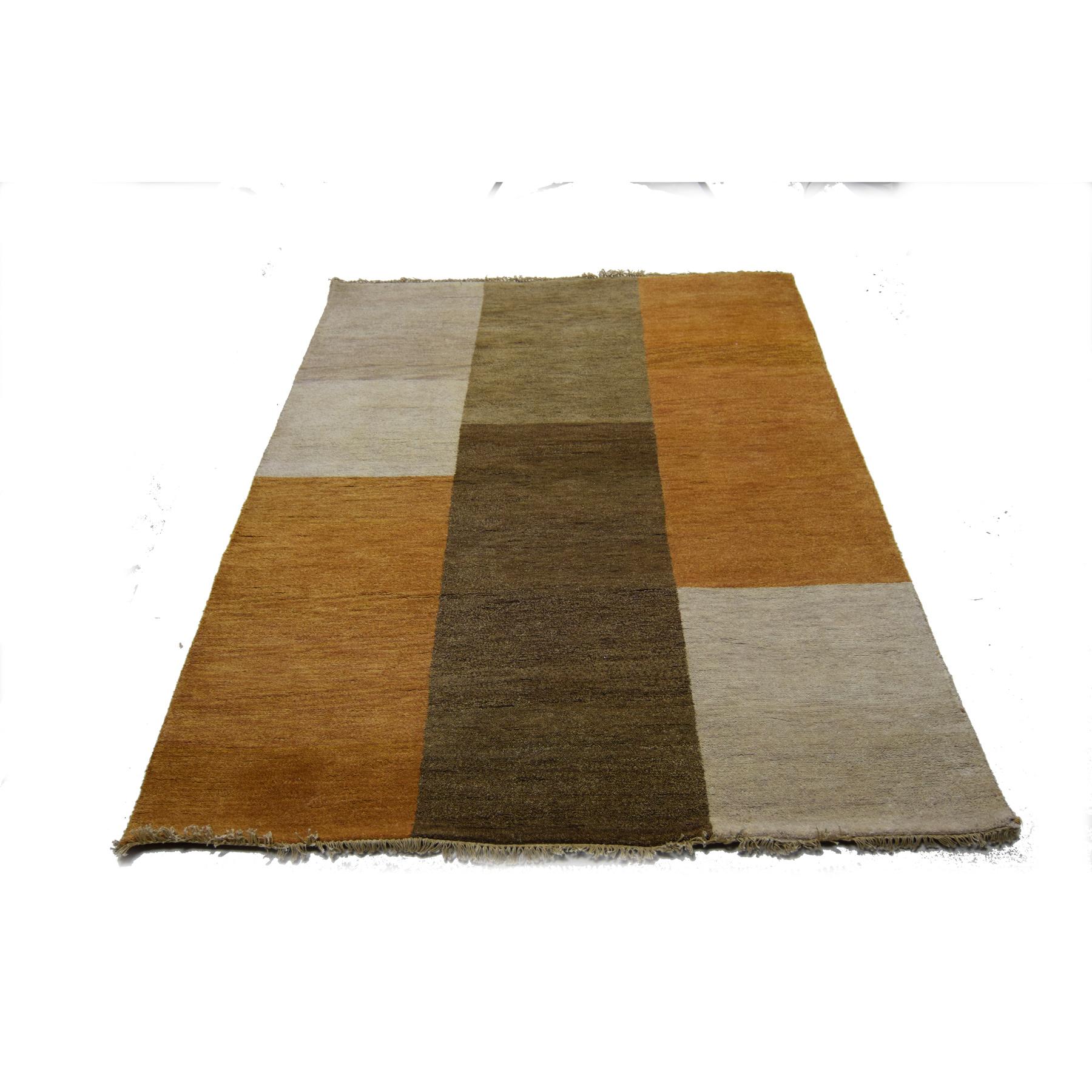 Modern Rugs Handloom Carpet 201x151cm Indian Woollen