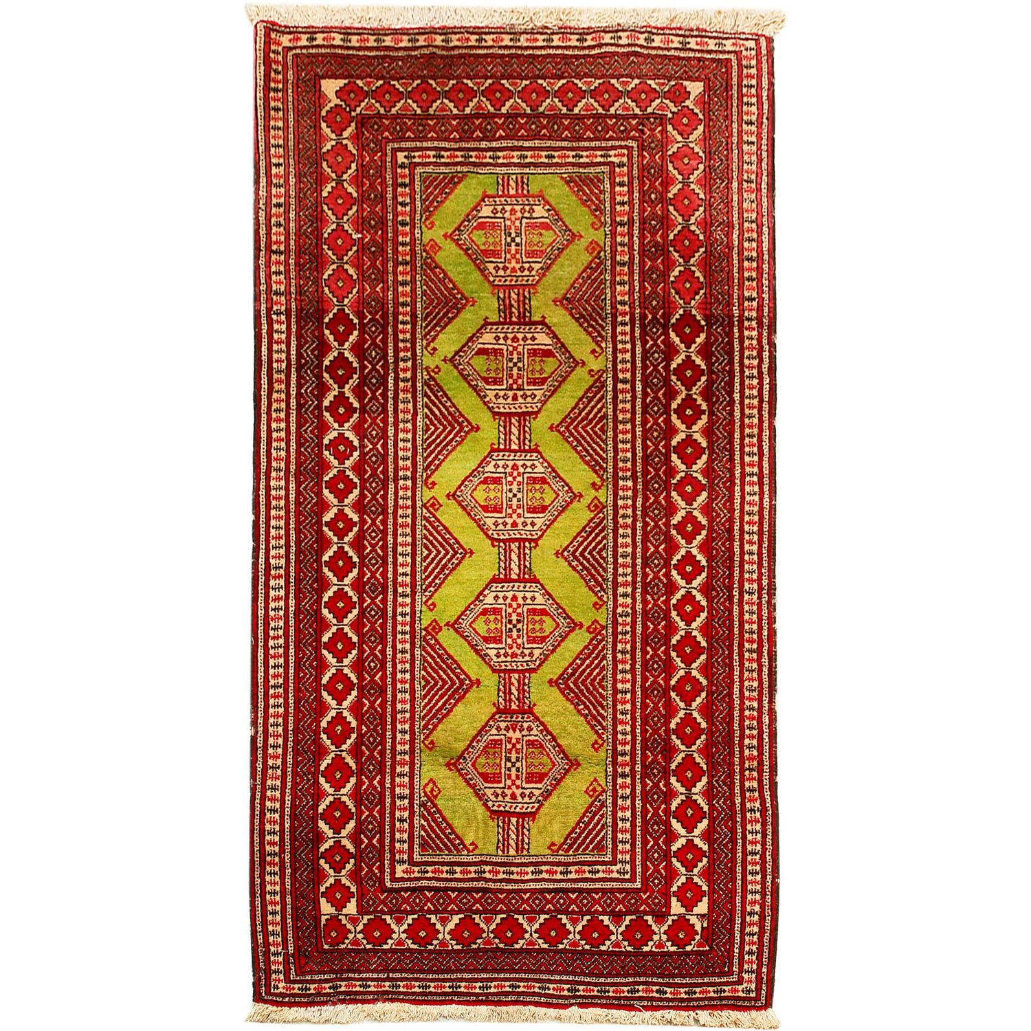 Beluch 205x110cm Wool Persian Style Rug